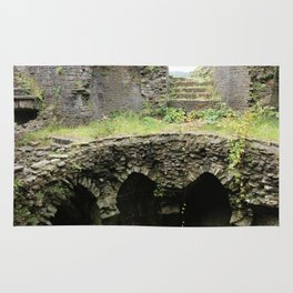 Caerphilly Castle Ruins Rug