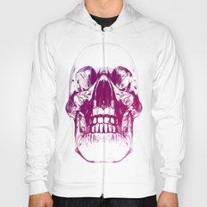 purple crystal skull Hoody