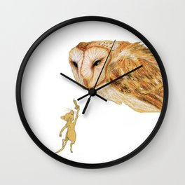 Brave Little Warrior Wall Clock