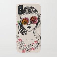 In Bloom iPhone X Slim Case