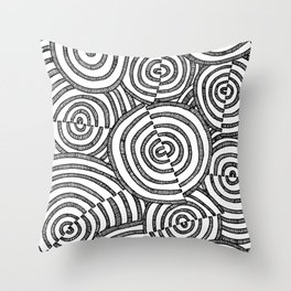 Getting Nowhere Throw Pillow