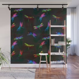 fly fly dragonfly i Wall Mural