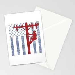 American Lineman Stationery Cards