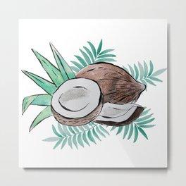 coconut passion Metal Print