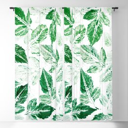 Green foliage Blackout Curtain