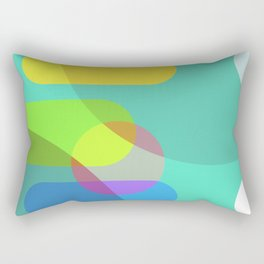 Some Curvy World Rectangular Pillow