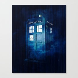 The Traveling Box One Canvas Print