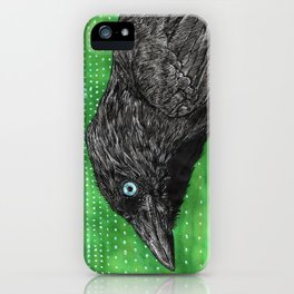 Jackdaw iPhone Case