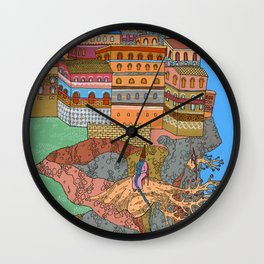 Cliff City Wizards Wall Clock