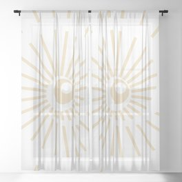 Sunshine / Sunbeam 8 Sheer Curtain