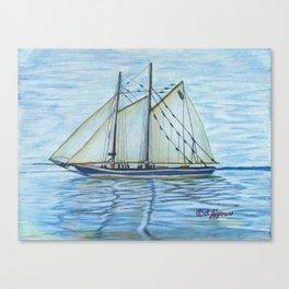 Island Seas Canvas Print