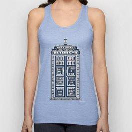Doctor Who - Tardis Typography Unisex Tank Top