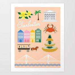 Charleston Art Print Art Print