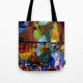 Paul Klee Windows and Palms Tote Bag
