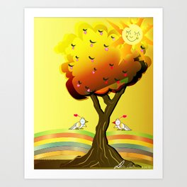 Inspiration of the day Art Print