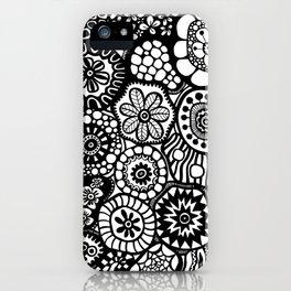 Flowerlicious iPhone Case