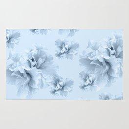 Light Blue Azalea Flower Dream #1 #floral #pattern #decor #art #society6 Rug
