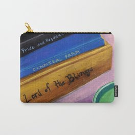 Pride and Pegasus Book Lover Art Carry-All Pouch