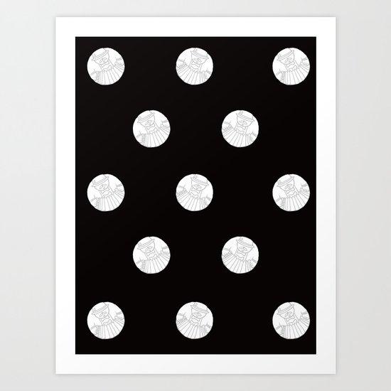 Polka like you mean it Art Print