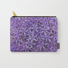Purple Pom Carry-All Pouch