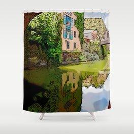 Chesapeake and Ohio Canal Shower Curtain