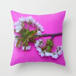 Flower blossom # 2. Throw Pillow