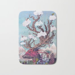 Journeying Spirit (deer) Bath Mat
