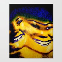 sister Canvas Prints featuring Sister by Serena Gailey
