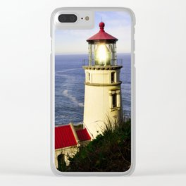 Oregon - Light Streaming Clear iPhone Case