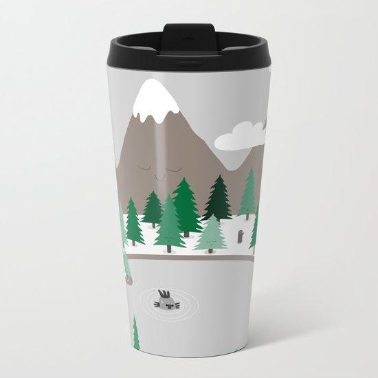 Lake Monster Metal Travel Mug