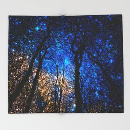 the night i met you Throw Blanket