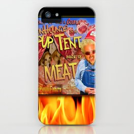 Guy Fieri and a Couple Coonhounds iPhone Case