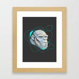 Ape Introspection Framed Art Print