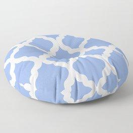 Blue rombs Floor Pillow