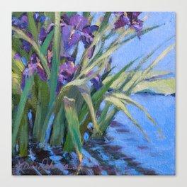Sun Day—Iris Canvas Print