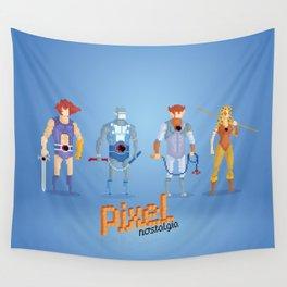 Thundercats - Pixel Nostalgia  Wall Tapestry