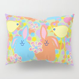 Bunnies and Friends Pillow Sham