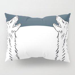 Pra Loup Howling Wolf Pillow Sham