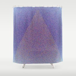 A Blue Point Shower Curtain