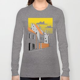 Medieval houses Long Sleeve T-shirt