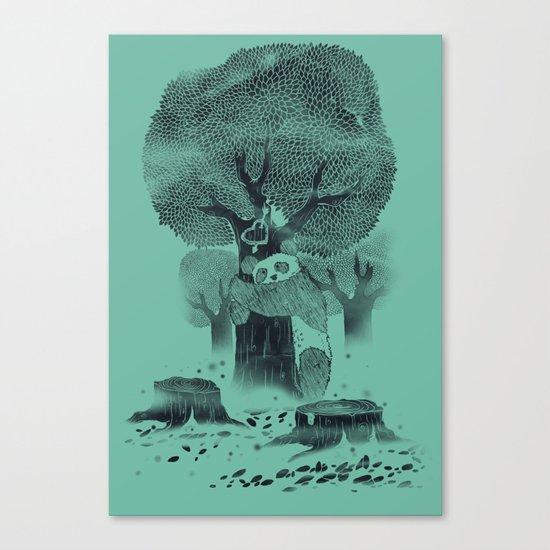The Tree Hugger Canvas Print