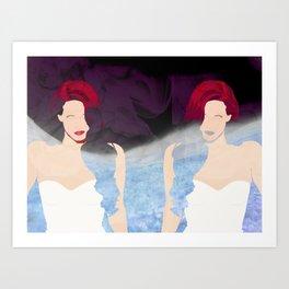 Smoke and Mirrors Art Print