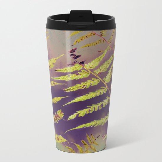 Faded Bracken Metal Travel Mug