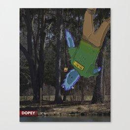 Flare Man Canvas Print