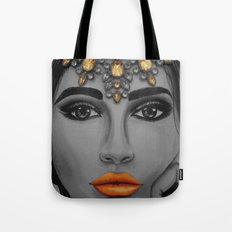 Tangerine Sky Goddess - by Ashley-Rose Standish Tote Bag