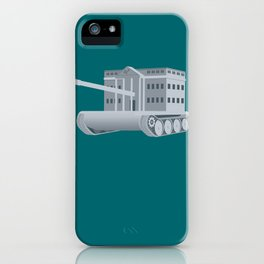 ThePresident Has Exceeded His Authority by Waging War Without Congressional Authorization iPhone Case