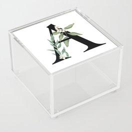 Botanical A Acrylic Box
