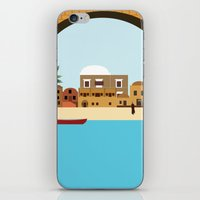 arab iPhone & iPod Skins featuring Arab city by Design4u Studio