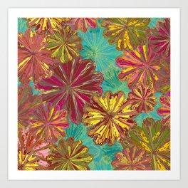 Poppytops Art Print
