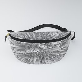 BIG BANG -Abstract Space- Black and White Fanny Pack